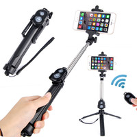Remote Control Selfie Stick Bluetooth Monopod With Foldable ...