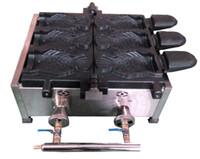 бесплатная доставка горячая продажа тип газа мороженое Taiyaki машина рыба конус вафельница