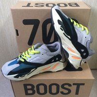 New Kids Shoes Kanye West 700 Running Shoes Boys Girls Sneak...