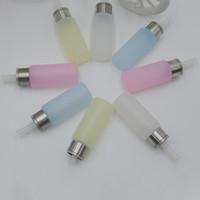 Flacone in silicone con contagocce in gomma E Liquido 8 ml Funzione luminosa per alimentazione dal basso Contagocce Contagocce Vape Liquido E Succo Bottiglia eJuice