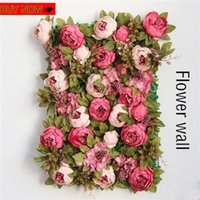 Wholesales 18 Colors 13 Heads Bunch 50cm Peony Silk Fake Flo...