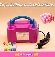 La bomba eléctrica inflable inflable automática de globo inflable de látex de la membrana de aluminio del nuevo inflable automático es adecuada para todo tipo de a