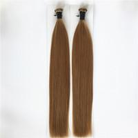 ELIBESS волос - я Совет человеческих волос 1 г/с 100х/лот цвет #1 #2 #4 #6 #8 #18 Stick Совет человеческих волос