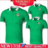 Northern Ireland soccer jerseys shirt 2018 2019 home green T...