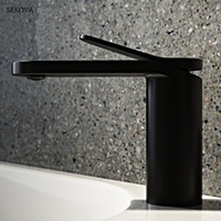 Brass Chrome Plated Black White Paint Cold And Hot Basin Fau...