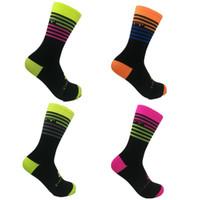 Nueva alta calidad masculina y femenina calcetines de ciclismo calcetines deportivos bicicleta correr medias de baloncesto de fútbol calcetines senderismo montañismo 8e0504