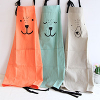 Creative Parent Child Cute Pattern Working Apron Zakka Kitch...
