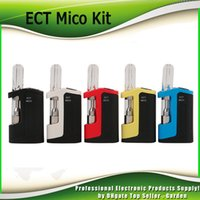 Original ECT Mico Cartridge Kit 350mAh Preheat VV Battery Bo...