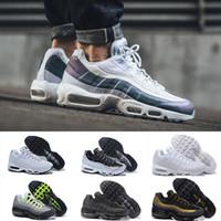 buy online 9ef92 63beb 2018 Nike Air Max 95 designer shoes Ultra 20th Anniversary 95 Männer  Laufschuhe 95s Herren Trainer Tennis Zapatos Turnschuhe Größe 40-46  Kostenloser Versand