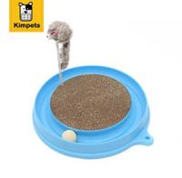 KIMHOME PET Bergan Turbo Scratcher Katzenspielzeug Mit Maus Handmade Katzen Kätzchen Scratcher Training Spielzeug Interaktive Katze Spielen Ball Spielzeug