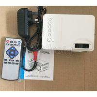 Mini Projektör RD814 LCD LED Taşınabilir Cep Projektörleri RD-814 Ev Sineması Sinema Multimedya Destek USB Çocuklar Çocuk Video Media Player