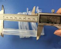 Tubo di plastica resistente ai bambini di E Cig per carrelli esotici di Vape Cartucce di penna di Vape resistente agli atomizzatori di serbatoio di vetro Pyrex