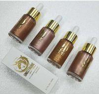 Unistrobe illuminator Drops Liquid face highlighter make up cosmetici per ragazze teenager fondotinta crema 4 colori 20ml