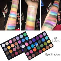 Maycheer 28 Colors Eye Shadow Palette Bright Glitter Makeup ...