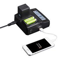 Freeshipping NP-FW50 NPFW50 NP FW50 Bateria Podwójna ładowarka z portem USB dla Sony NEX-7 NEX-C3 NEX-5N NEX-3 NEX-5 NEX-F3 A37 A55 A33