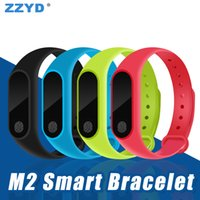 ZZYD M2 Smart Bracelet Fitness Tracker Band Bluetooth Sport ...