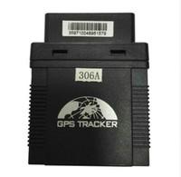 Подключи играть GPS306 мини-автомобиля трекер OBD корабли II GPS трекер для такси / управления автопарком поддержка iOS Android приложение Rastreador