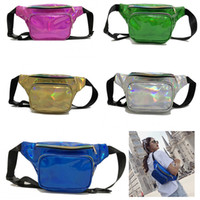 Fanny Packs New Fashion Waterproof Laser PU Fanny Packs Bags...