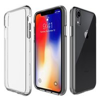 For Iphone XS Max Case Clear Hybrid Bumper Shockproof Case C...