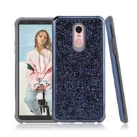 Casos de luxo Glitter Paillette Electroplating 2 em 1 telefone híbrido à prova de choque para lg stylo7 stylo6 samsung galaxy a72 a52 oppbags