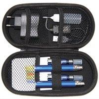 Kits 900mah T Batteries CE4 Cigarette Zipper Case Kit Electronic E 2 Starter Atomizers Ego Double 650mah 2 1100mah Cigarette CE4 Kits Okbgi
