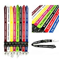 CellPhone Lanyard Under Straps Marca de ropa Llavero Llaves de teléfono Cámara MP3 ID Badge Holder Hebilla desmontable
