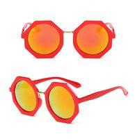 4a77178c14 Bambini Occhiali da sole poligonali UV400 Designer Summer Occhiali da sole  per bambini Anni dell