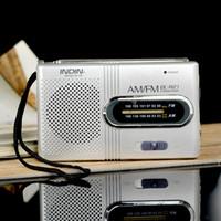 BC-R21 Mini Radio Tragbare AM FM Teleskop Antenne Radio Welt Empfänger Lautsprecher DC 3 V Gute qualität