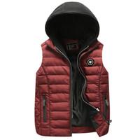브랜드 남성 겨울 따뜻한 양복 조끼 자켓 모피 까마귀 민소매 조끼 캐주얼 outwear 코트 자켓 럭셔리 대형 XXXL 면화