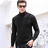 Мужские свитера Macrosea 100% шерсть Высокая надежная мода дизайн формальный случайный трикотаж пуловер 8011