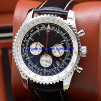 3 colors luxury brand watch men 46mm Quartz watch Small dial...
