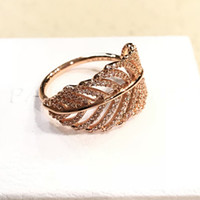 Authentic Womens Luxury 925 Sterling Silver Rings Logo Origi...