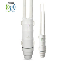 EASYIDEA Outdoor Wifi Repeater 2. 4G + 5GHz Wireless WiFi Amp...