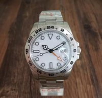 AAA Watch 40MM White Dial Explorer II Ref. 216570GMT Format 3...