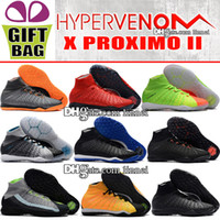 Original High Top Indoor Soccer Boots HypervenomX Proximo II...