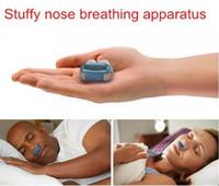 nuovissimo silicon snore stopper sano sleeepping keepper magnetico anti russare dispositivo sonno 3 colori per scegliere EA008