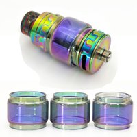 Rainbow extended Bulb fat boy replacement glass tube for tfv...