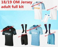 Olympique de Marseille SOCCER jersey adult KIT WITH SOCKS 20...