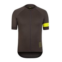 Mens Rapha Pro Team Cycling Manga corta Jersey MTB CAMISETAS CAMISETAS Camisas de bicicleta de carretera Summer Transpirable Al aire libre Uniforme de deportes Ropa Ciclismo S2103117