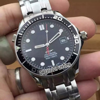New Diver 300M 212. 30. 36. 20. 01. 002 Co- Axial Steel Case Black...