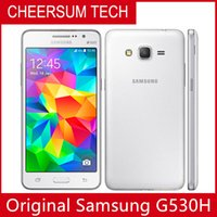 Yenilenmiş Cep Telefonu Unlocked Orijinal Samsung Galaxy Grand Prime G530F G530 Ouad Çekirdek Çift Sim 5.0 inç 1GB RAM 8GB ROM yenilenmiş telefon