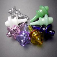 La nuovissima tappo di carboidrato di vetro colorato tappo rotondo a cupola rotonda per XL al quarzo di spessore termico ganger chiodi di vetro tubi di vetro tavolino in vetro