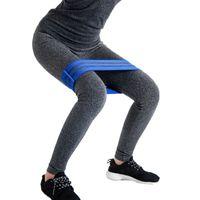 Bandas de resistencia Banda de cadera elástica Muslos para entrenamiento de expansión de yoga Pilates de entrenamiento Expansor de entrenamiento Equipo de gimnasio en casa