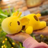 Peluche bambola giocattolo giraffa bambole del fumetto morbido morbido kawaii mentire animale cervi per i bambini regalo di compleanno di deco dell'automobile di 30 centimetri LA058