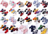cotton baby socks set spring autumn winter New baby floor fo...