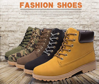Winter Martin boots Outdoor work boots Men casual fashion boots Waterproof Antiskid Blue Black Men Shoes Warm shoes High-quality pu AG-03