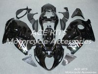 Carénages de moto ACE pour SUZUKI GSX-R1300 1997 1998 2006 2007 Noir carrosserie compression n ° 438