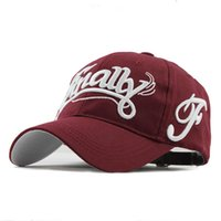 100% cotton baseball cap women casual snapback hat for men F...