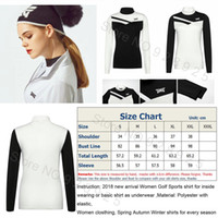 Golf Shirt Women Clothing Slim Sportswear Lady Golf Jersey W...