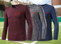 Brand Exercise & Fitness Sweatshirt Mens Outdoor Sports Long...